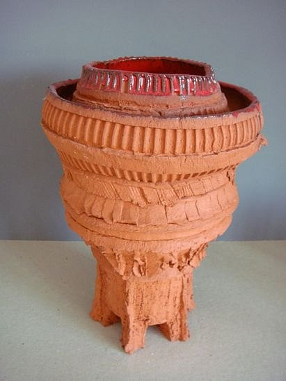 Red Vase Object